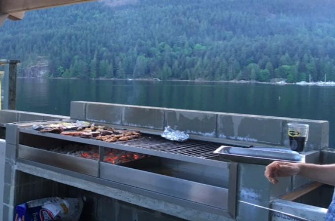New Grill at Elliott Bay