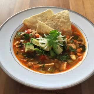 How to Make Homemade Chicken Tortilla Soup (Sopa Azteca)