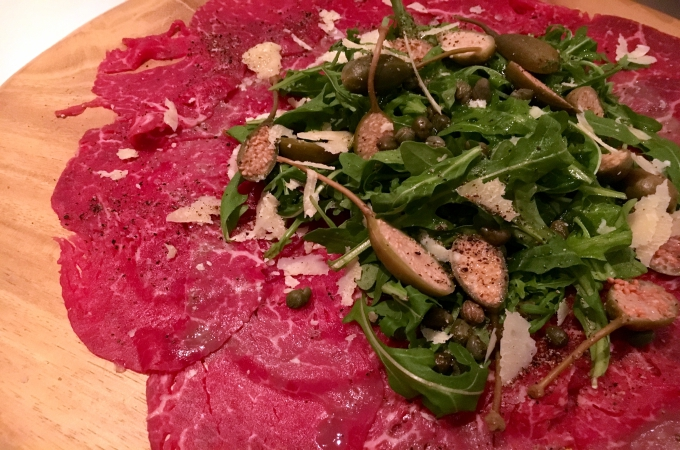 Cooking Club Holiday Appetizers Beef Carpaccio