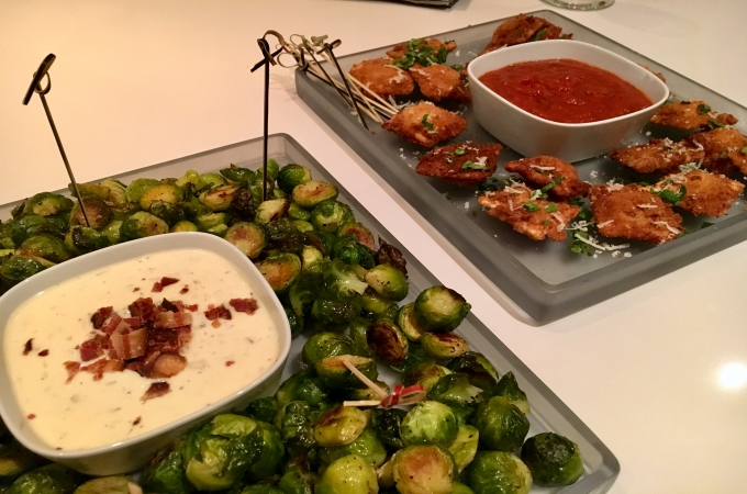 Cooking Club Holiday Appetizers Brussel Sprouts